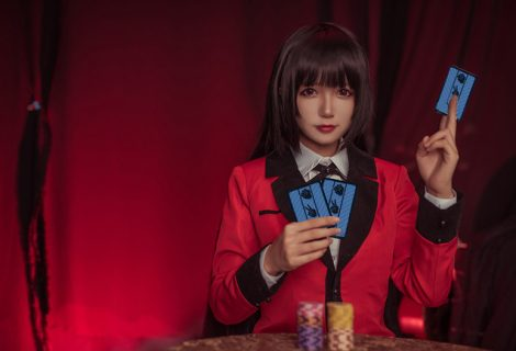 Wondrous Jabami Yumeko Cosplay Set