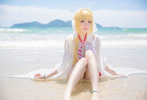 Fate/Grand Order Nero Claudius Bikini Cosplay