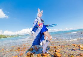 Kaga Azur Lane Cosplay by Sherryken