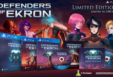 Narrative-driven Shoot 'em Up, Defenders of Ekron, Launches in Asia on March 9