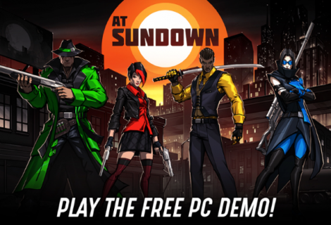 Award Winning Deathmatch-in-the-Dark Shooter At Sundown Coming to PC, Switch, PS4 and Xbox One this Spring