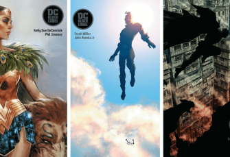 My Initial Thoughts on the DC Black Label Imprint Series
