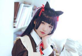 Exquisite Kuroneko Maid Cosplay Set
